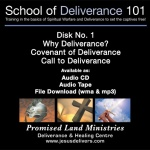 School of Deliverance 101-(01) Why Deliverance?-Pastor Jozef Jasinski (CD)