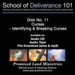 School of Deliverance 101-(11) Identifying & Breaking Curses-Pastor Jozef Jasinski (CD)
