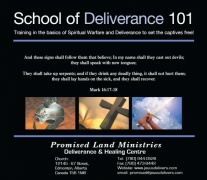 School of Deliverance 101-mp3-Complete Set of Teachings on mp3 (16-mp3 files)